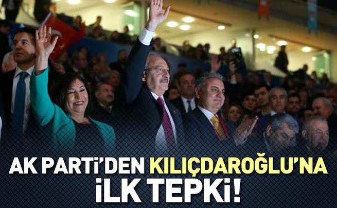 AK PARTİ'den Kılıçdaroğlu'na 'diktatör' cevabı!