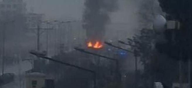 Rus Büyükelçiliği'ne bombalı saldırı!