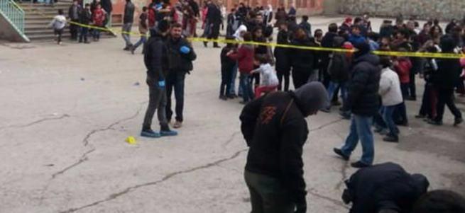 Karne dağıtımı öncesi okulda patlama; 5 öğrenci yaralandı