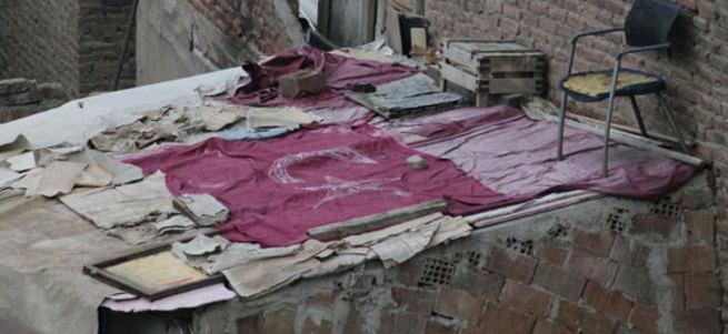Sur'da teröristlere ay yıldızlı tepki