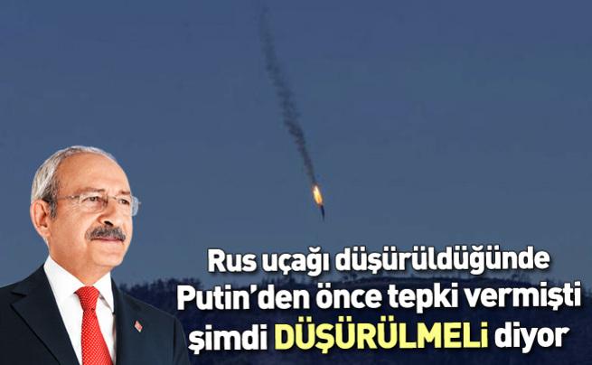 Kemal Kılıçdaroğlu: Rus uçağının ihlali kabul edilemez