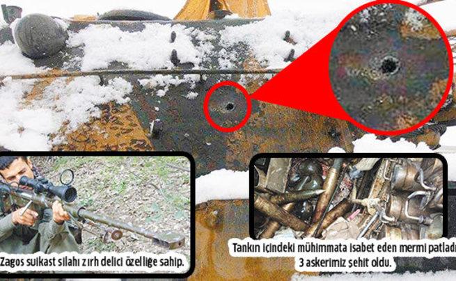 PKK ABD silahıyla vuruyor