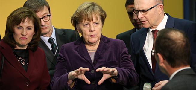 Almanya Başbakanı Merkel'den Türkiye'ye teşekkür!