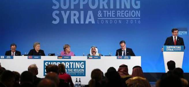 Suriye için 10 milyar dolar toplandı