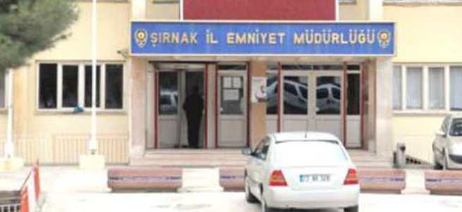 Şırnak'ta Emniyet Müdürlüğü binasına saldırı