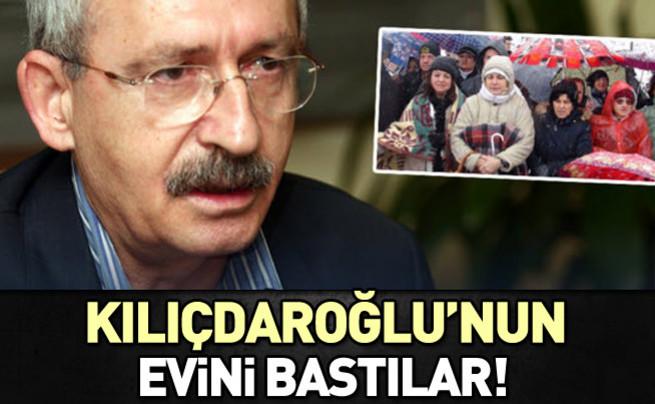 Kılıçdaroğlu'nun evini bastılar