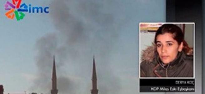 HDP'li Derya Koç'un benzin döküp yaktılar yalanı