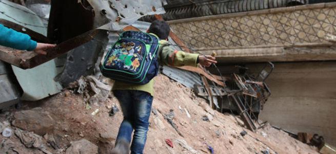 Halep hava saldırıları bardağı taşırdı