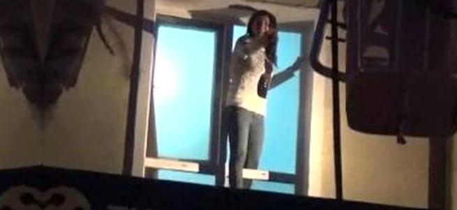 Konya'da otel yangını