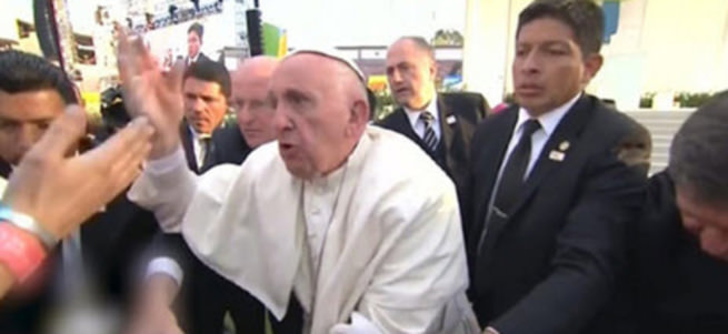 Papa sinir krizi geçirdi!