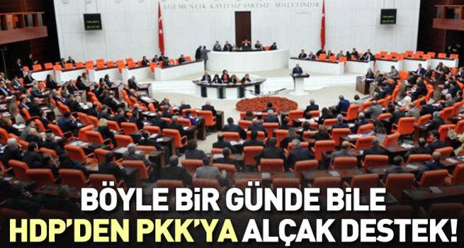 Teröre karşı ortak bildiriye HDP imza atmadı