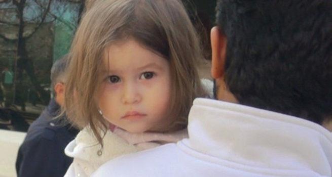 Şehit kızının bakışları yürekleri dağladı