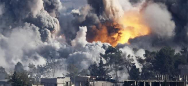 Ruslar Halep'i bombalıyor
