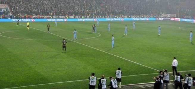 Trabzonspor'dan tarihi protest