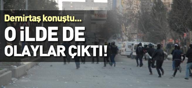 Demirtaş'ın mitinginden sonra Batman karıştı!