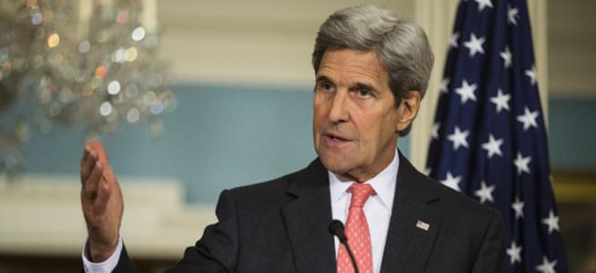 Kerry'den Esed'e tepki