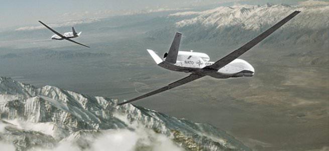 NATO dronuna kartal darbesi
