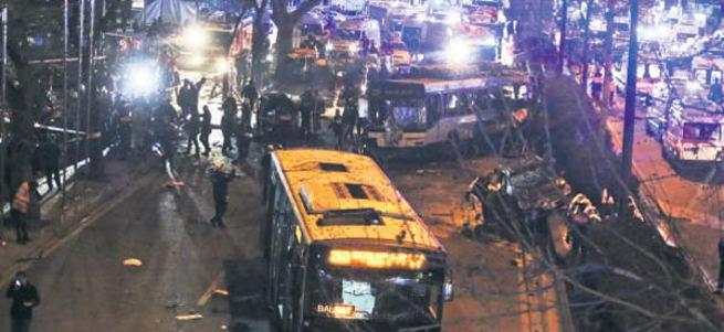 Ankara'daki saldırıda PKK şüphesi