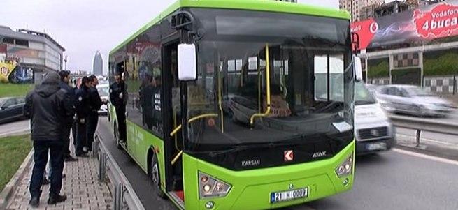 İstanbul'da şüpheli otobüs alarmı!