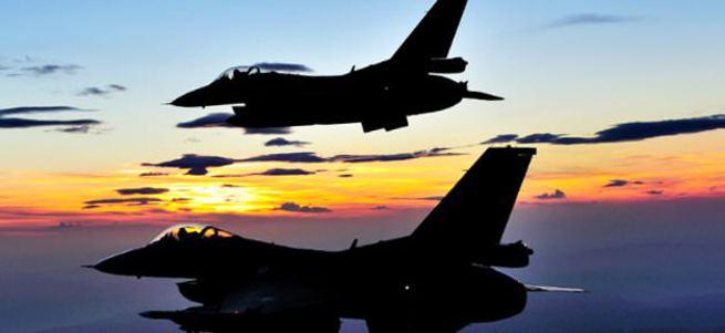F-16'lar PKK hedeflerini yerle bir etti!