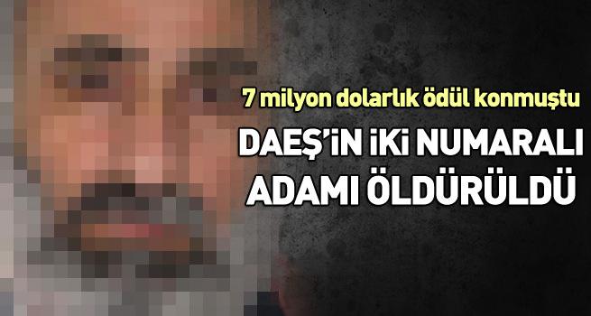 DEAŞ'ın iki numarası öldürüldü