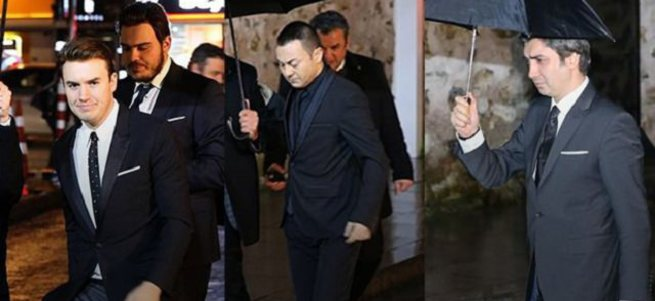 Başbakan Davutoğlu, sanat ve kültür camiasıyla bir araya geldi