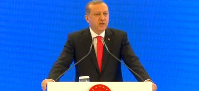 Cumhurbaşkanı Erdoğan Eğitim Zirvesi'nde konuştu