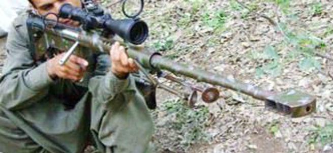 PKK'lı keskin nişancılar öldürüldü