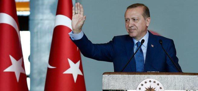 Cumhurbaşkanı Erdoğan'a Washington'da destek gösterisi