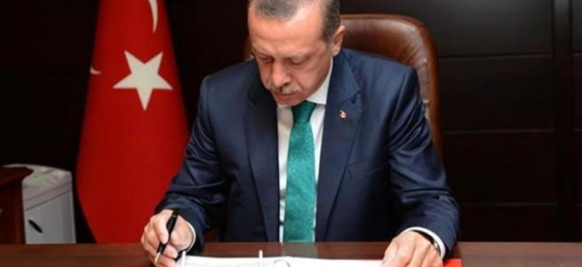Erdoğan'dan 3 kanuna onay