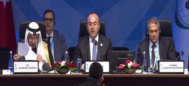 Bakan Çavuşoğlu: Kalıcı barışın tek yolu 1967 sınırları