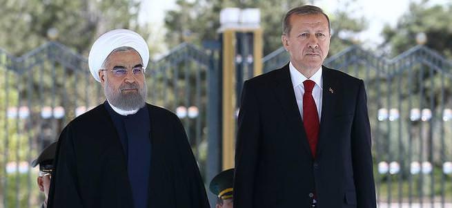 Cumhurbaşkanı Erdoğan ve Ruhani'den önemli açıklamalar