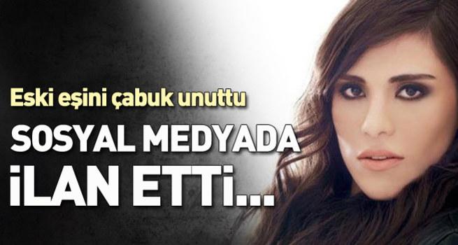 Caner Erkin aşkını sosyal medyada ilan etti