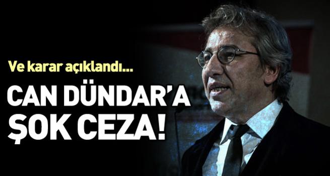 Can Dündar'a 28 bin TL ceza
