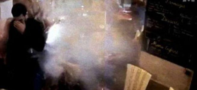 Paris bombacısının kendini patlattığı o anlar ortaya çıktı