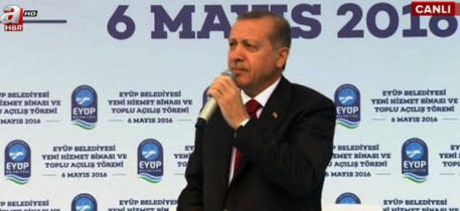 Cumhurbaşkanı Erdoğan'dan AB'ye cevap