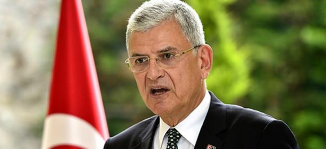 Bakan Volkan Bozkır'dan 'vizesiz AB' açıklaması
