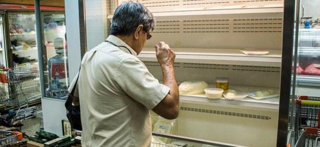 Venezüella çöktü