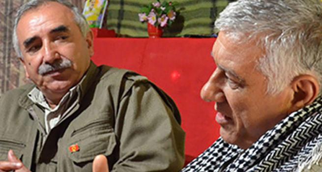 PKK'nın sözde liderleri birbirine düştü