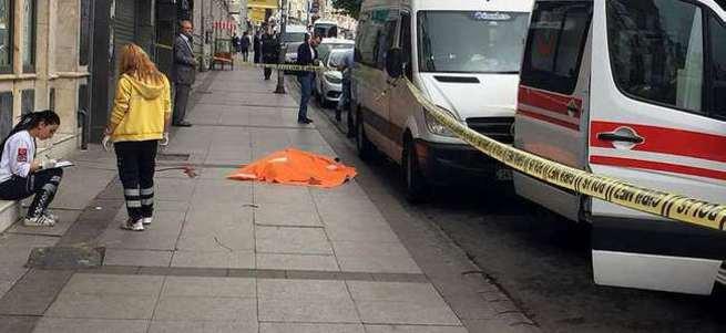 Şişli'de esrarengiz ölüm!