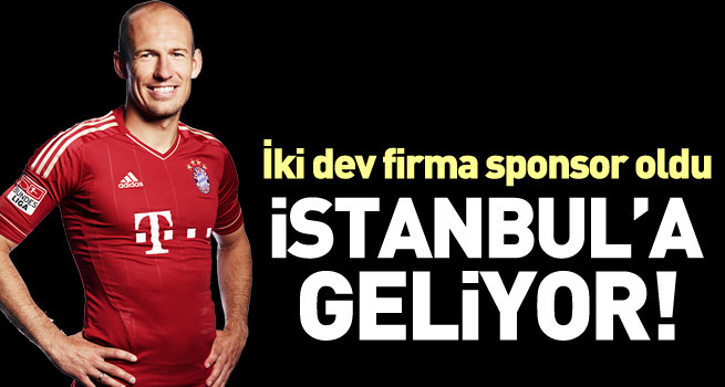Robben Süper Lig'e geliyor! Sponsorlar tamam