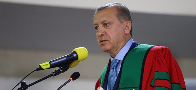 Cumhurbaşkanı Recep Tayyip Erdoğan Uganda'da fahri doktora töreninde konuştu