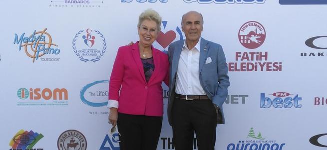 Uluslararası Geleneksel Türk Kalp Vakfı Tenis Turnuvası bitti