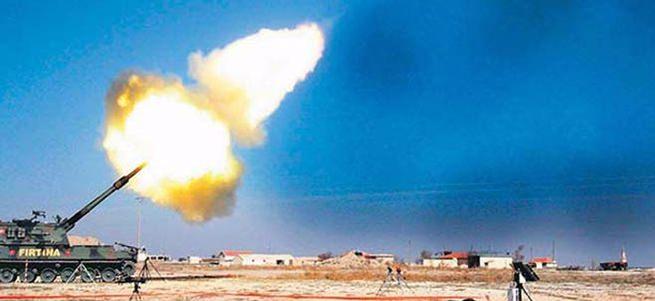 Türkiye'ye atış hazırlığındaki DAEŞ hedefleri vuruldu