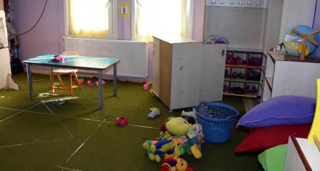 Van'da anaokuluna terör saldırısı!