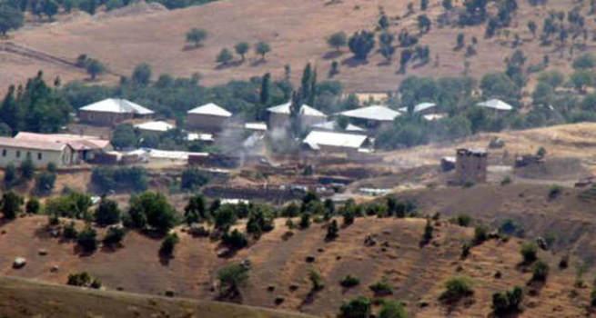 Sınır bölüğüne ateş açan PKK'lılara misliyle karşılık verildi