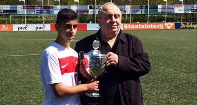 Manchester United 14 yaşındaki Türk'ün peşinde
