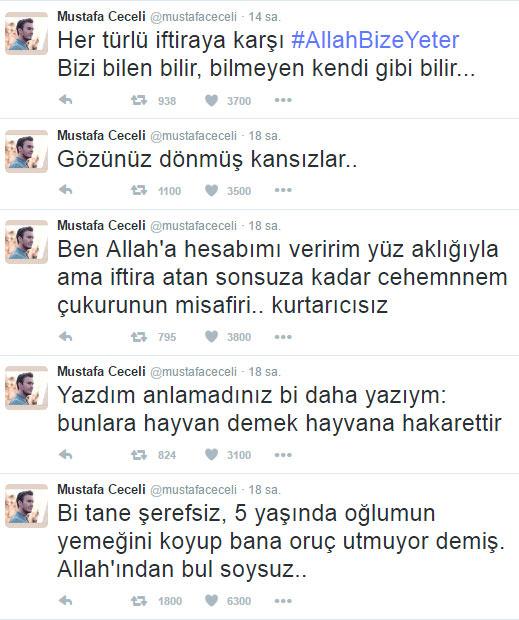 Mustafa Ceceli'den o iddiaya sert tepki