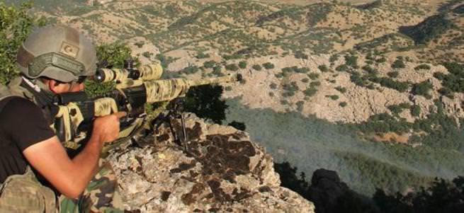 O bölgedeki terörist gruplar dağıtıldı