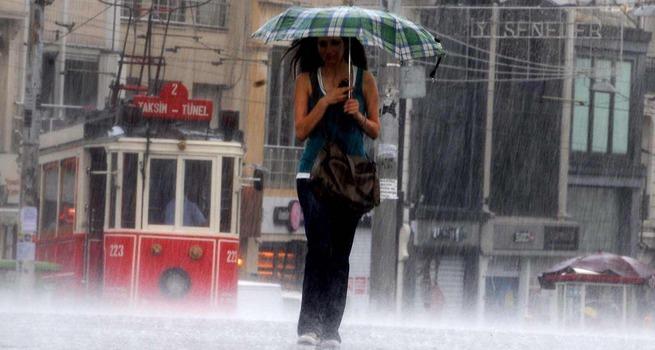 Meteoroloji'den İstanbul'a önemli yağış uyarısı